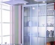Arca Cucine Italia - Cucina Domestica in Acciaio Inox e Vetro - Opera - Dispensa Vetro