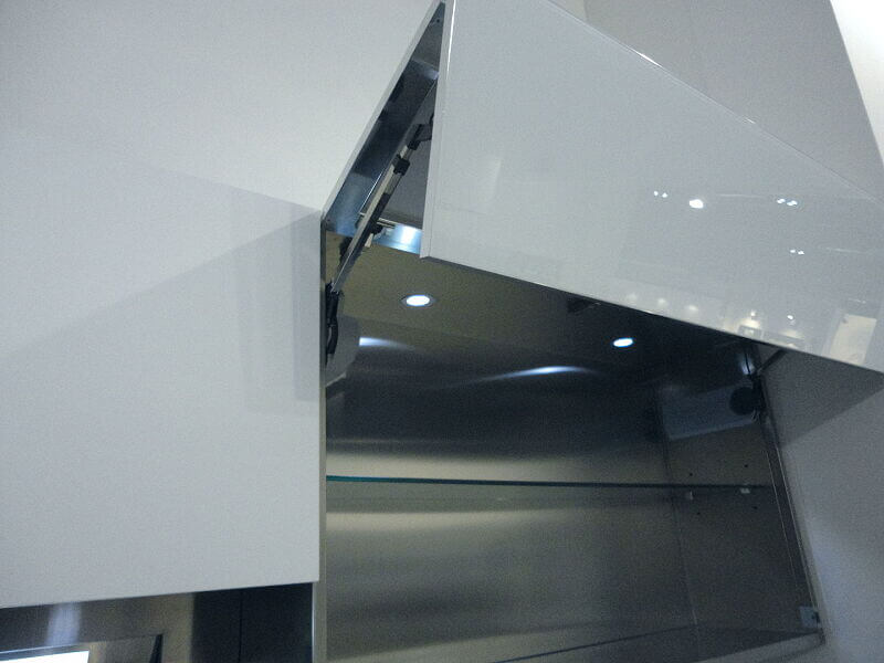 Ark Kitchens Italian Kitchens Milf Stainless Steel Accessories Automatic Door Bellows With Opening 021 1