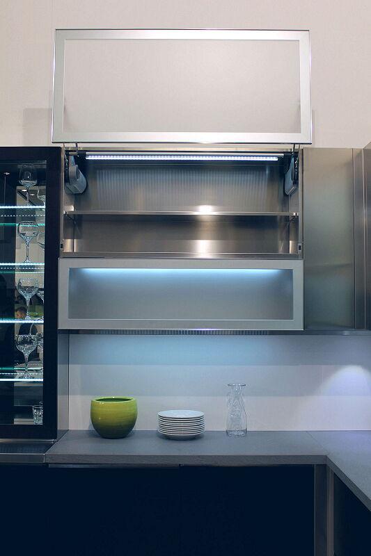 Arca Cucine Italia Cucine Domestiche Acciaio Inox Accessori Anta Ad Apertura Verticale Automatica 4 078_1