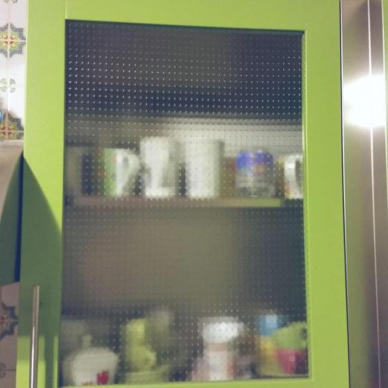 Arca Cucine Italia - Cucine Domestiche Acciaio Inox - Accessori - Anta Laccata Ral Con Vetro 2 007