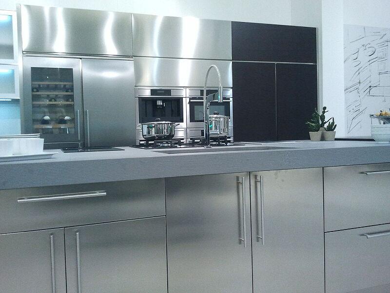 Arca Cucine Italia Cucine Domestiche Acciaio Inox Accessori Ante Inox 025_1