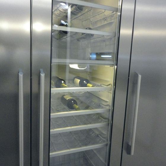 Arca Cucine Italia - Cucine Domestiche Acciaio Inox - Accessori - Cantinetta Inox 016