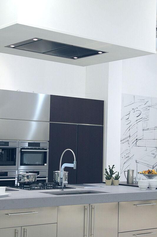 Arca Cucine Italia Cucine Domestiche Acciaio Inox Accessori Cappa A Soffitto 2 064