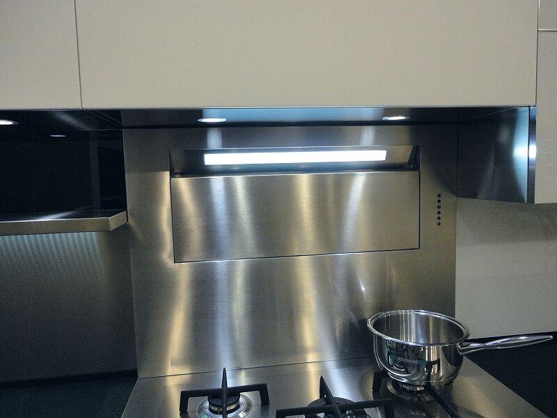 Arca Cucine Italia Cucine Domestiche Acciaio Inox Accessori Cappa Parete 015