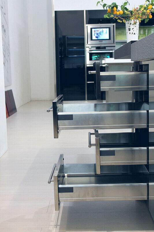 Arca Cucine Italia Cucine Domestiche Acciaio Inox Accessori Cassettiera Inox 2 062 1