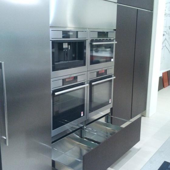 Arca Cucine Italia - Cucine Domestiche Acciaio Inox - Accessori - Cassettone Anta Telescopica 020