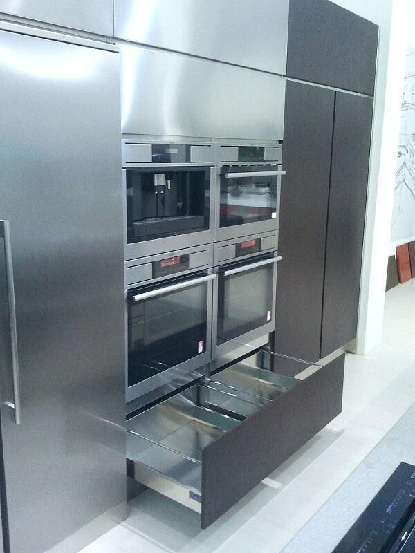 Arca Cucine Italia Cucine Domestiche Acciaio Inox Accessori Cassettone Anta Telescopica 020_1