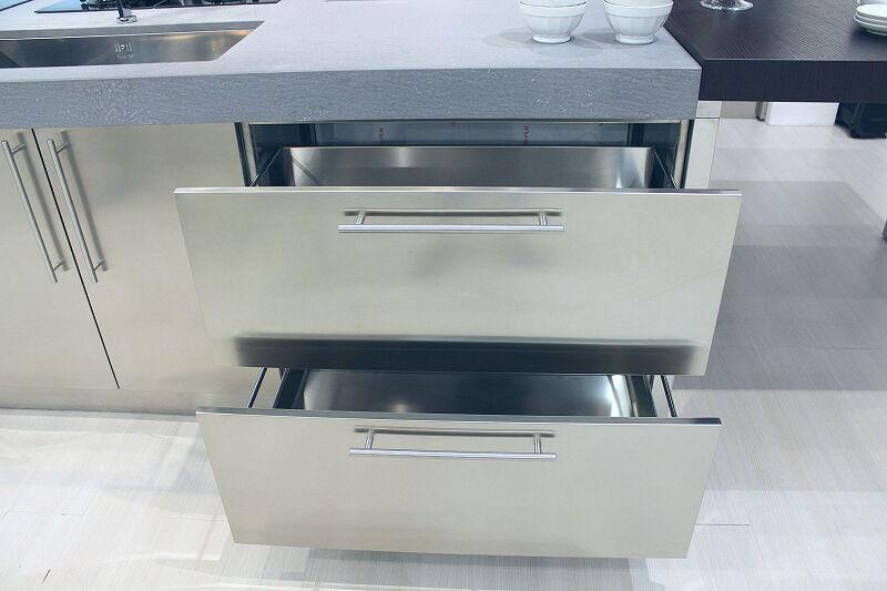 Arca Cucine Italia Cucine Domestiche Acciaio Inox Accessori Cestone Ad Estrazione Totale In Acciaio Inox 3 048
