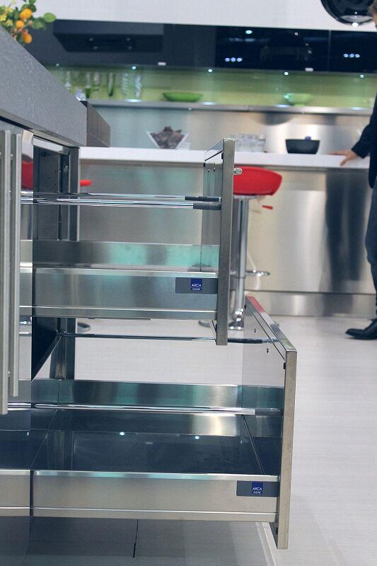 Arca Cucine Italia Cucine Domestiche Acciaio Inox Accessori Cestoni Ad Estrazione Totale 2 045