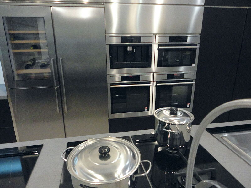 Ark Kitchens Italian Kitchens Milf Stainless Steel Accessories Composition Ovens Cantinetta