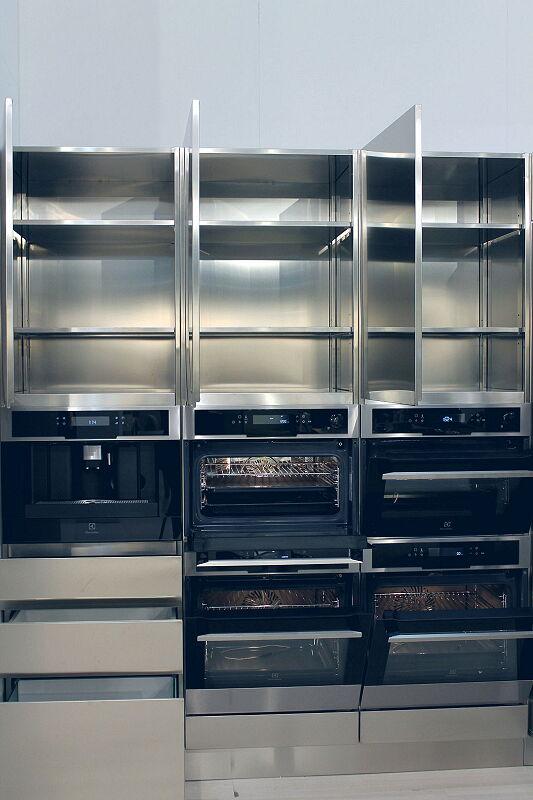 Arca Cucine Italia Cucine Domestiche Acciaio Inox Accessori Interni Totalmente Inox 032 1