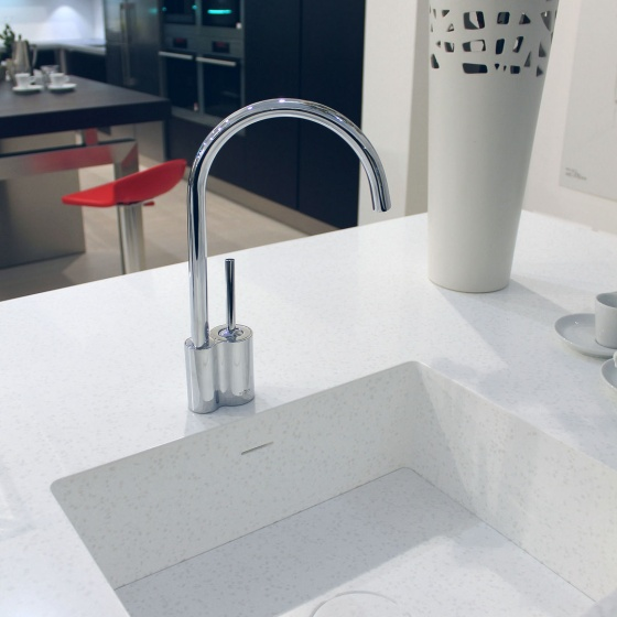 Arca Cucine Italy - Domestic stainless steel kitchens - Accessories - Corian Sink 4 029
