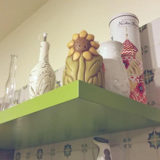 Arca Cucine Italia - Cucine Domestiche Acciaio Inox - Accessori - Mensola Laccata Ral 001