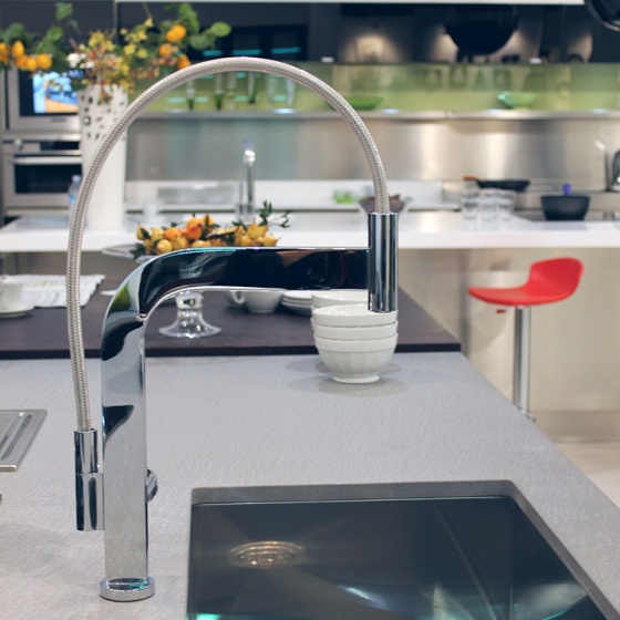 Arca Cucine Italy - Domestic stainless steel kitchens - Accessories - Mixer