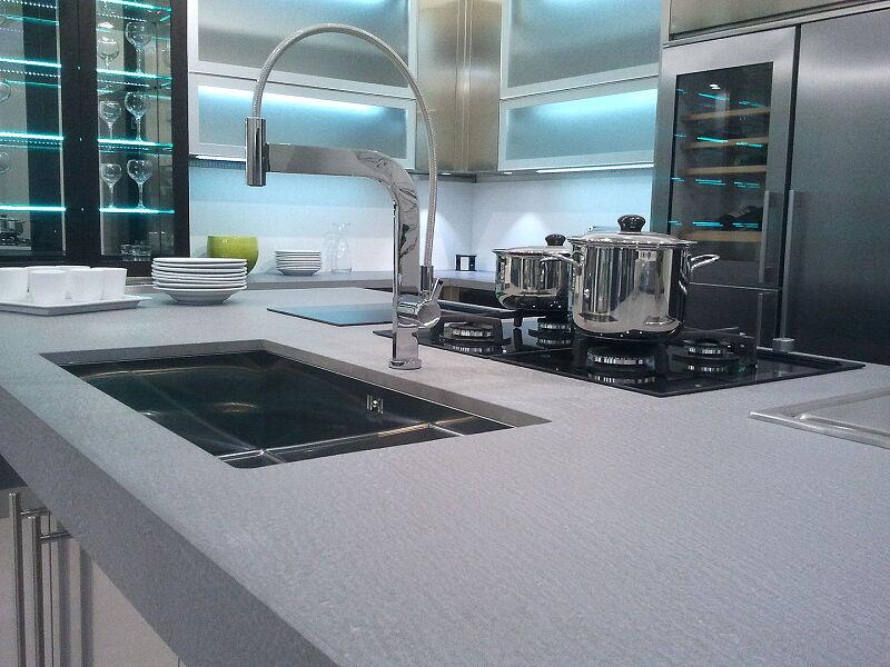 Arca Cucine Italia Cucine Domestiche Acciaio Inox Accessori Miscelatore Monocomando Con Canna Orientabile A 360° E Doccino 009