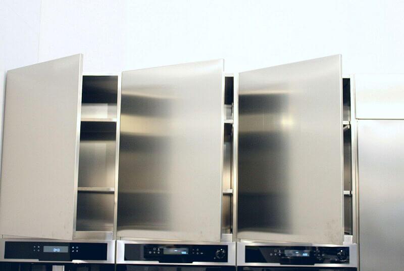 Arca Cucine Italia Cucine Domestiche Acciaio Inox Accessori Pensili Totalmente Acciaio Inox Aisi 304 2 022 1
