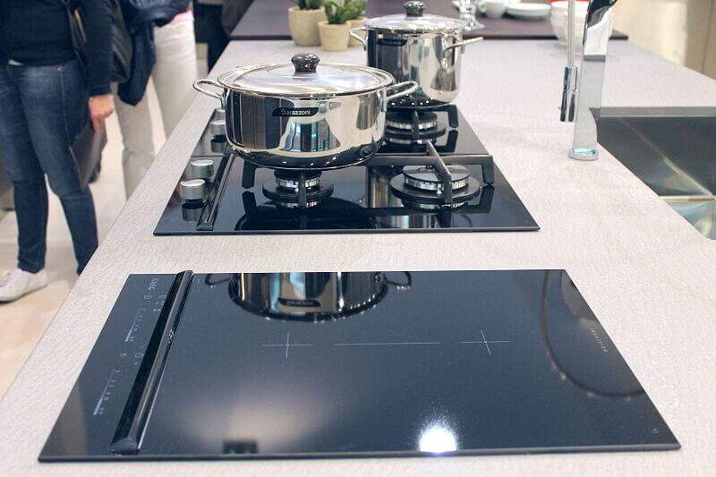 Arca Cucine Italia Cucine Domestiche Acciaio Inox Accessori Piano Cottura Combinato Induzione E Gas 016