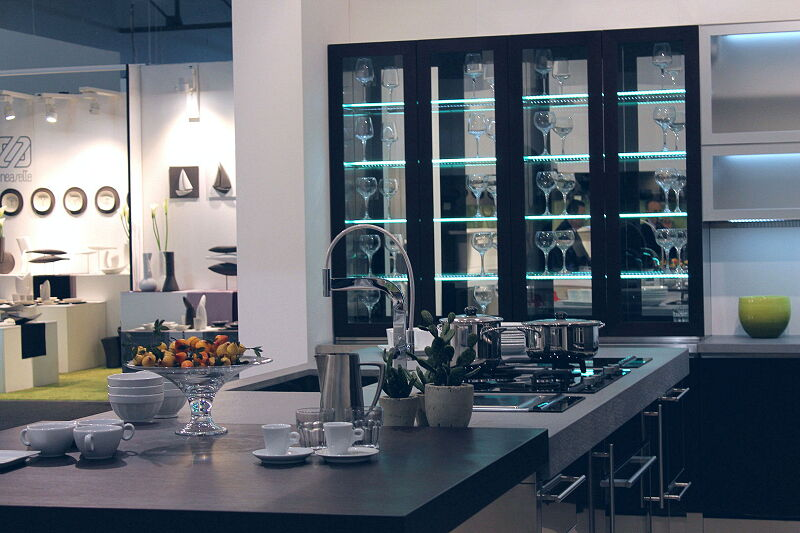 Arca Cucine Italia Cucine Domestiche Acciaio Inox Barn Nera 1508 221