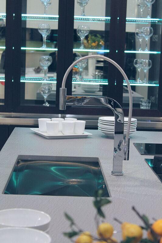 Arca Cucine Italia Cucine Domestiche Acciaio Inox Barn Nera 1510 219