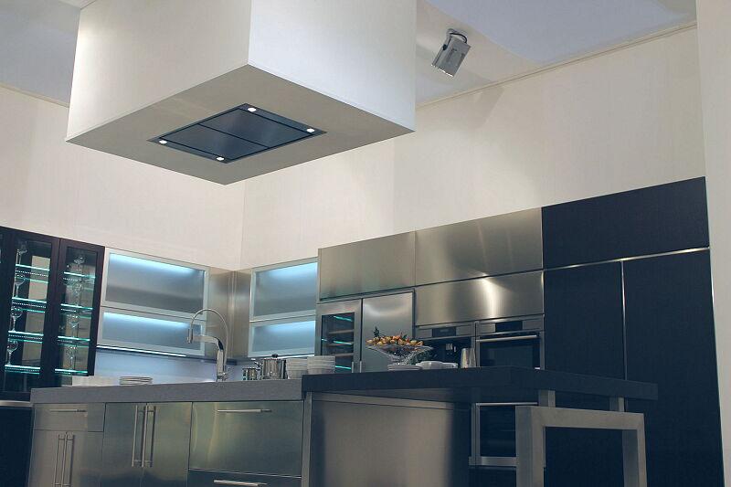 Arca Cucine Italia Cucine Domestiche Acciaio Inox Barn Nera 1640 174