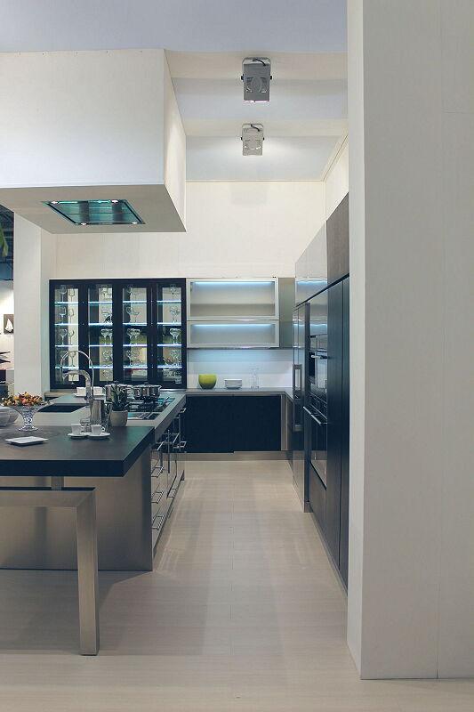Ark Cuisines Cuisines Italiennes Milf Acier Inoxydable Noir
