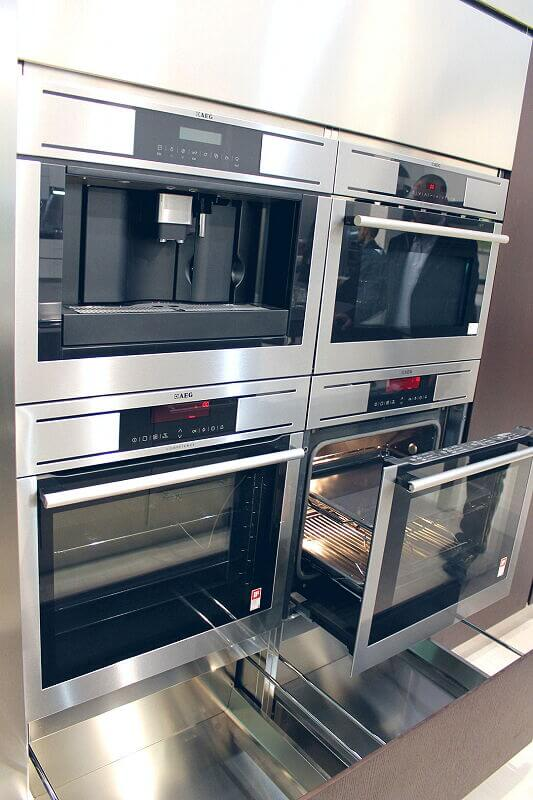 Arca Cucine Italia Cucine Domestiche Acciaio Inox Barn Nera 1732 119