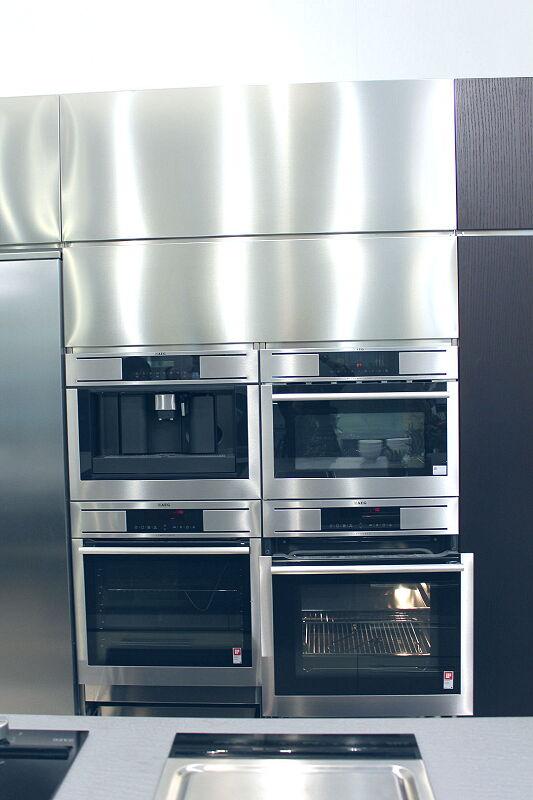 Arca Cucine Italia Cucine Domestiche Acciaio Inox Barn Nera 1734 117