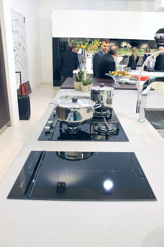 Arca Cucine Italia Cucine Domestiche Acciaio Inox Barn Nera 1758 095