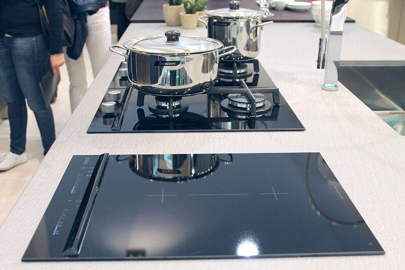 Arca Cucine Italia Cucine Domestiche Acciaio Inox Barn Nera 1763 092