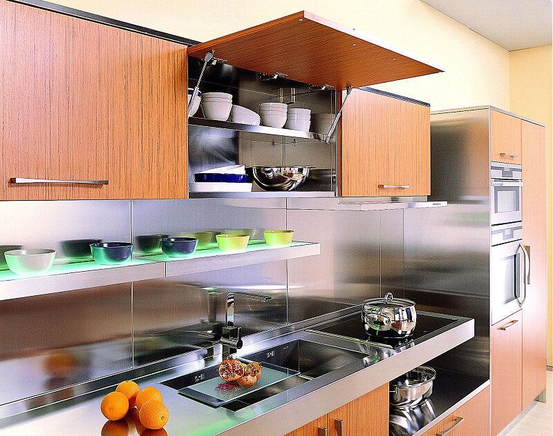 Arca Italian Kitchen Stainless Steel Kitchen Milf Ellel Pr16 1920 1