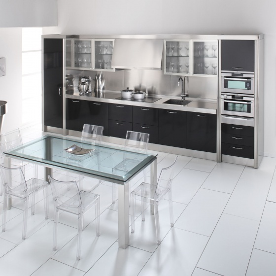Arca Cucine Italy - Domestic stainless steel kitchens - 15 - Essex