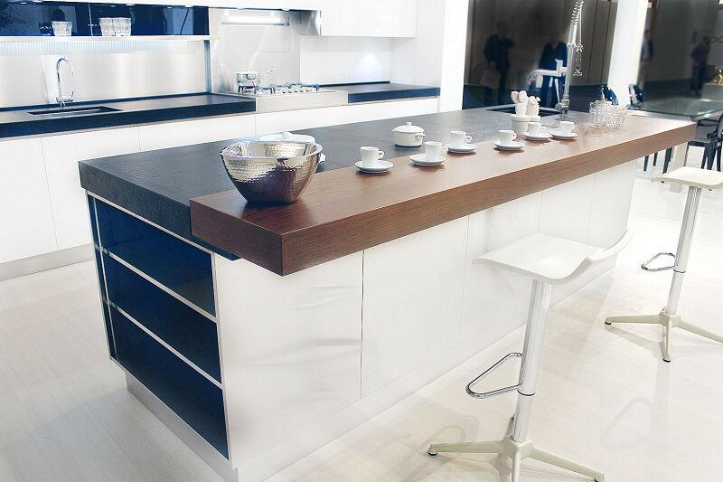 Arca Italian Kitchen Stainless Steel Kitchen Milf Feel Island