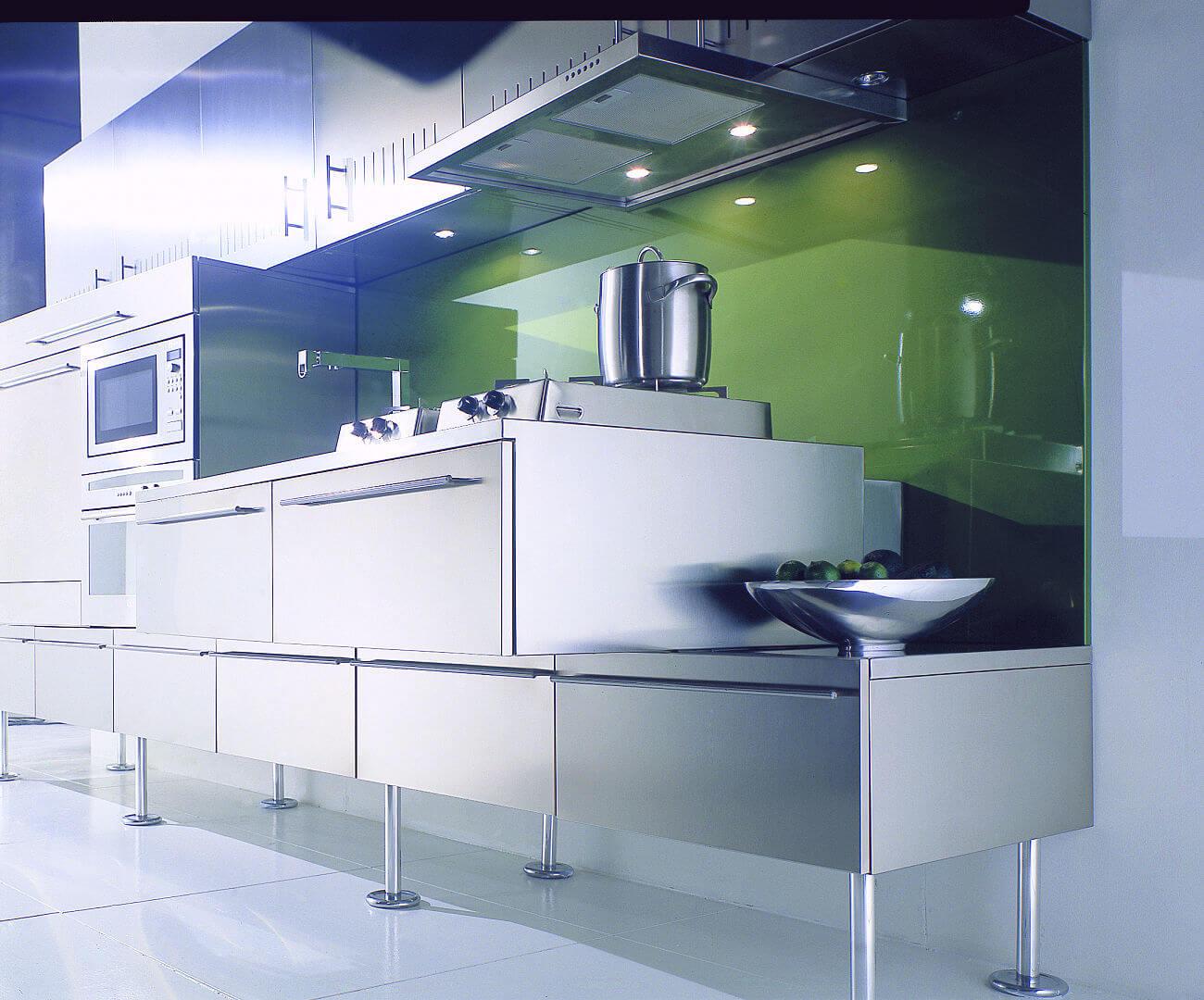 Arca Cucine Italy - Kitchen Stainless Steel Customized - Feet