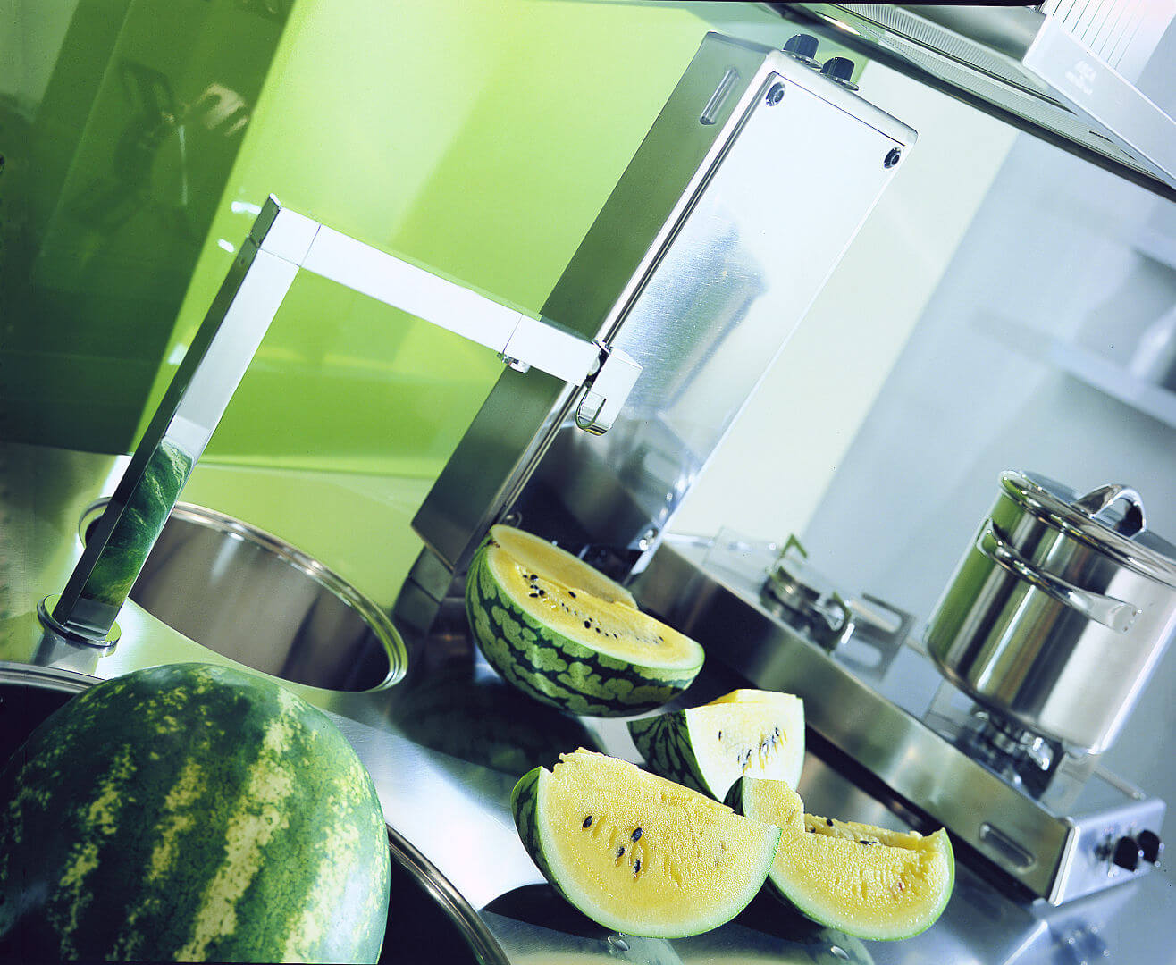 Arca Cucine Italia - Cucina in Acciaio Inox su misura - Lavello