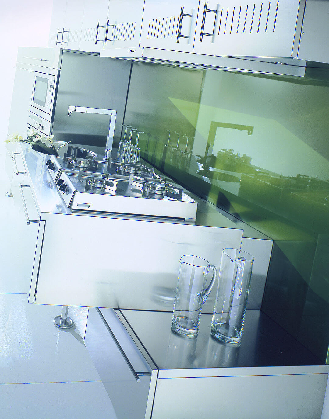 Arca Cucine Italy - Kitchen Stainless Steel Customized - hob