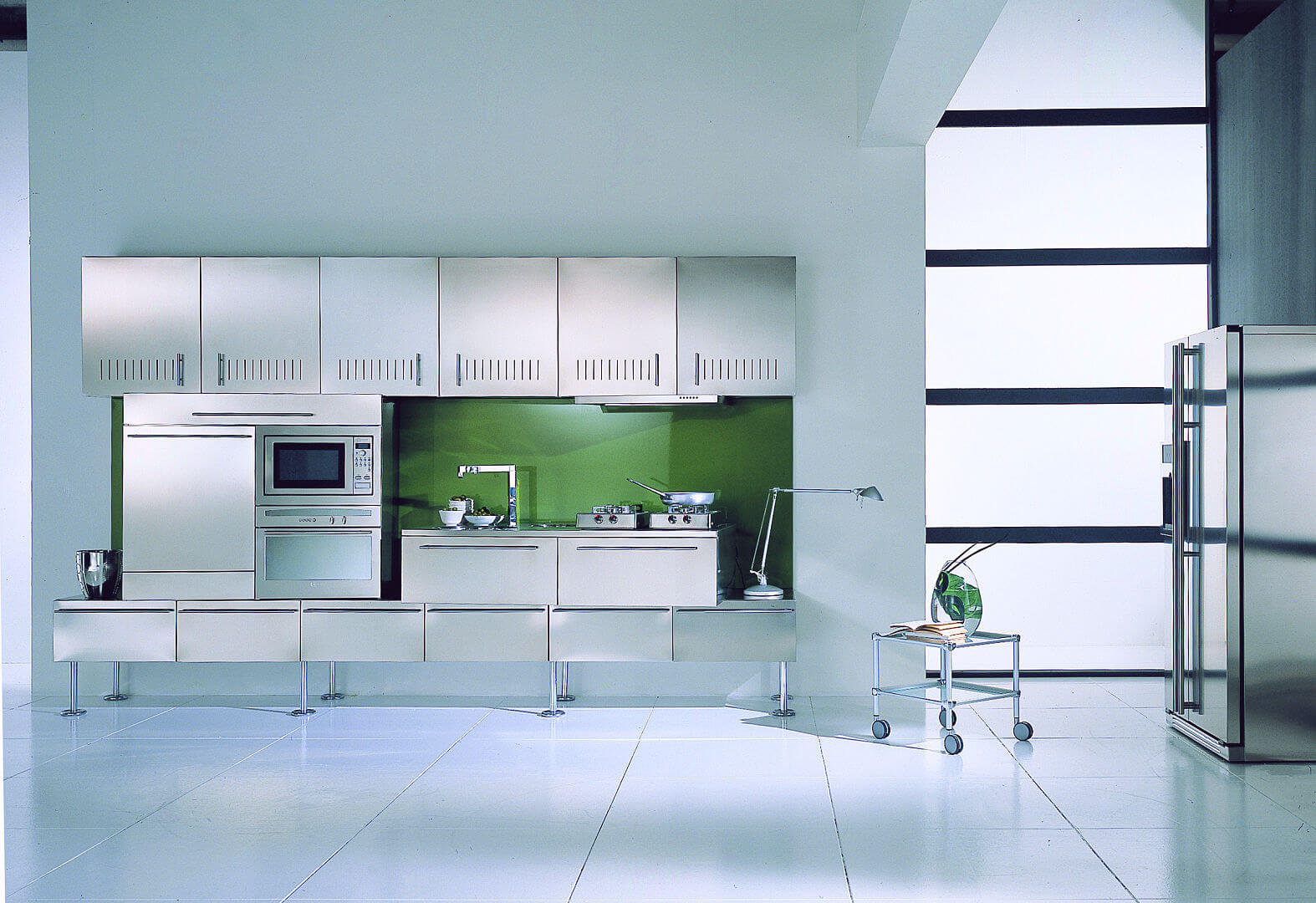 Arca Cucine Italy - Kitchen Stainless Steel Customized - Free