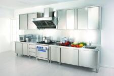 Arca Cucine Italia - Cucine Domestiche Acciaio Inox - Gourmet Grand Chef - Moduli Inox