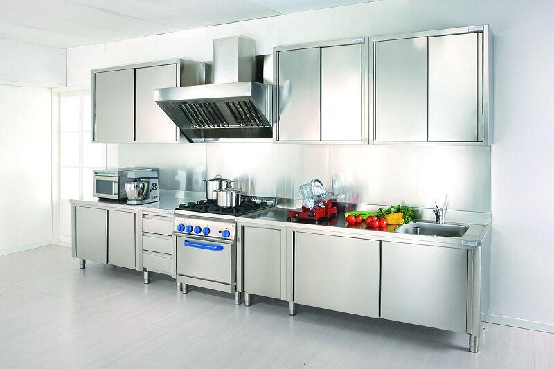 Arca Italian Kitchen Stainless Steel Kitchen Milf Grand Gourmet Chef Arca 003 1 1