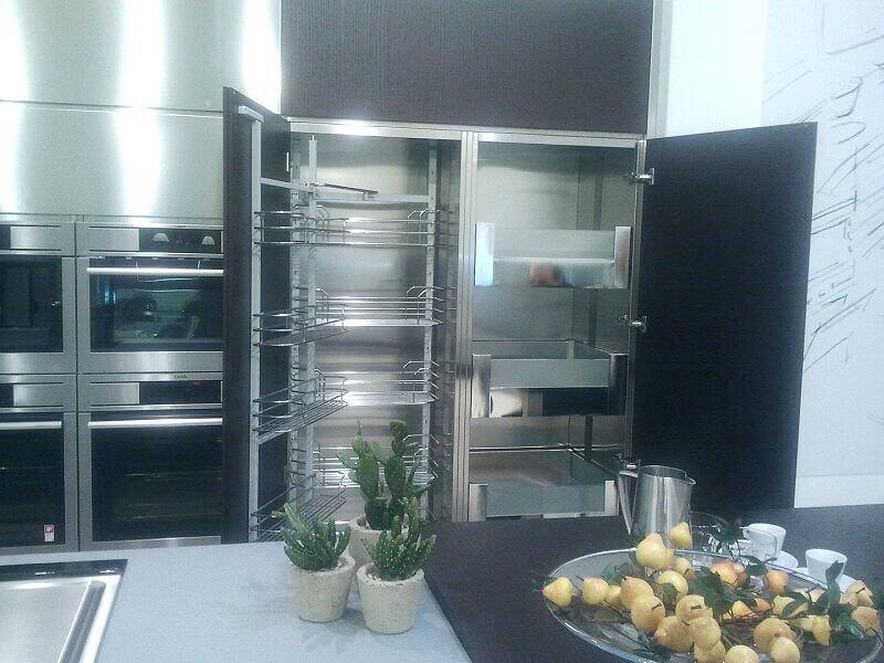 Arca Cucine Italia Cucine Domestiche Acciaio Inox Grandi Cucine 001