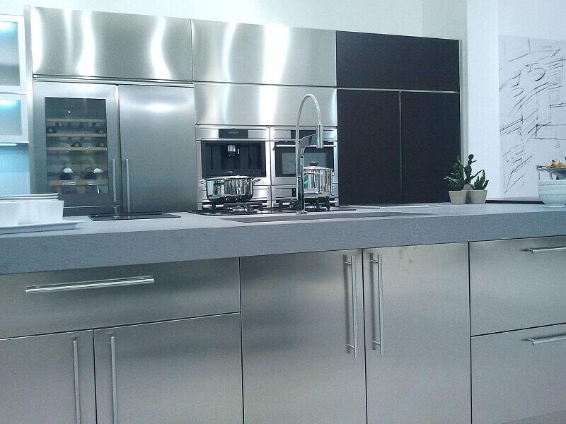 Arca Cucine Italia Cucine Domestiche Acciaio Inox Grandi Cucine 002