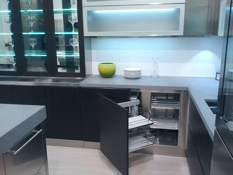 Arca Cucine Italia Cucine Domestiche Acciaio Inox Grandi Cucine 009