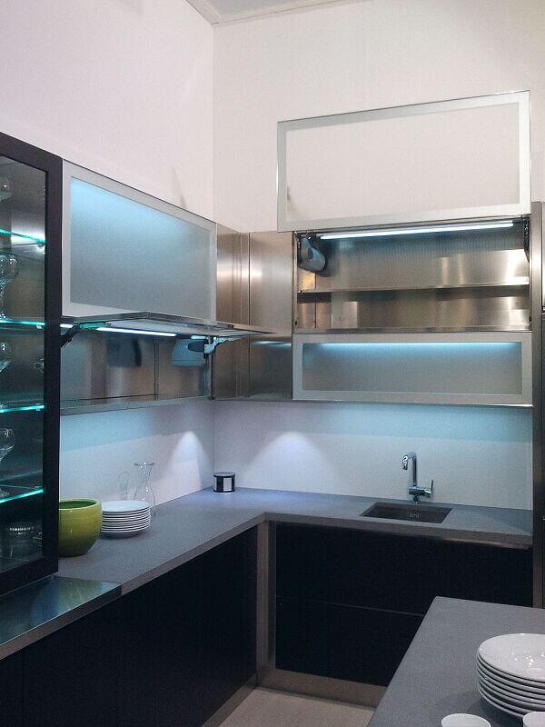 Arca Cucine Italia Cucine Domestiche Acciaio Inox Grandi Cucine 011