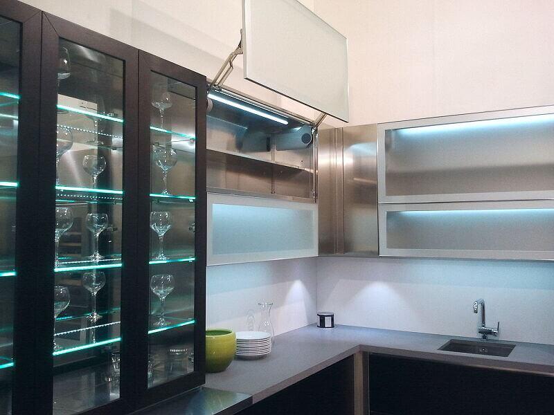 Arca Cucine Italia Cucine Domestiche Acciaio Inox Grandi Cucine 021