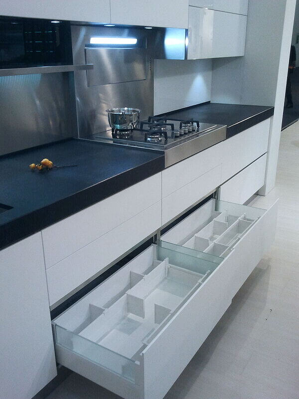 Arca Italian Kitchen Stainless Steel Kitchen Milf Grandi Cucine 023