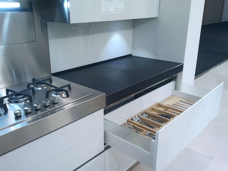 Arca Italian Kitchen Stainless Steel Kitchen Milf Grandi Cucine 024