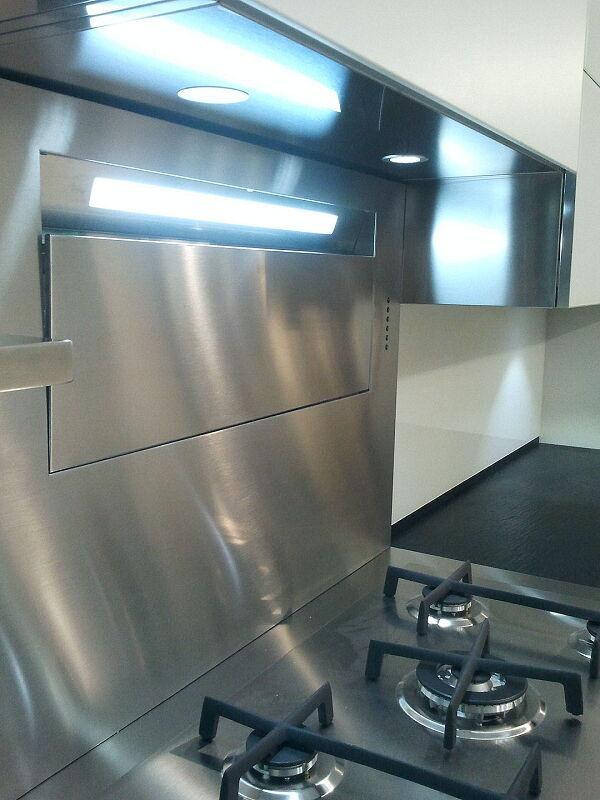 Arca Cucine Italia Cucine Domestiche Acciaio Inox Grandi Cucine 027