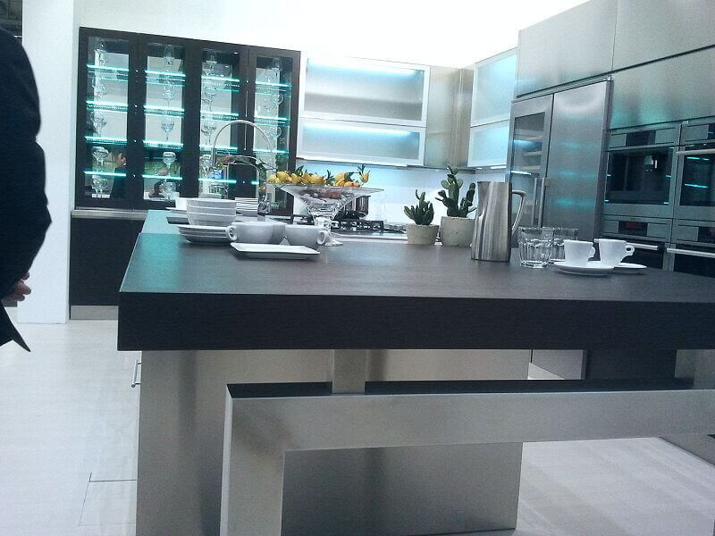 Arca Italian Kitchen Stainless Steel Kitchen Milf Grandi Cucine 038