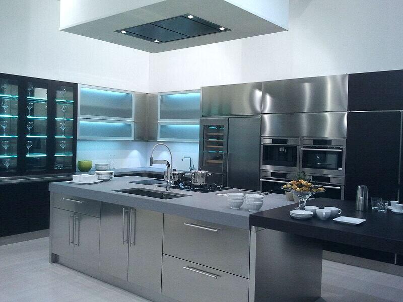 Arca Cucine Italia Cucine Domestiche Acciaio Inox Grandi Cucine 040