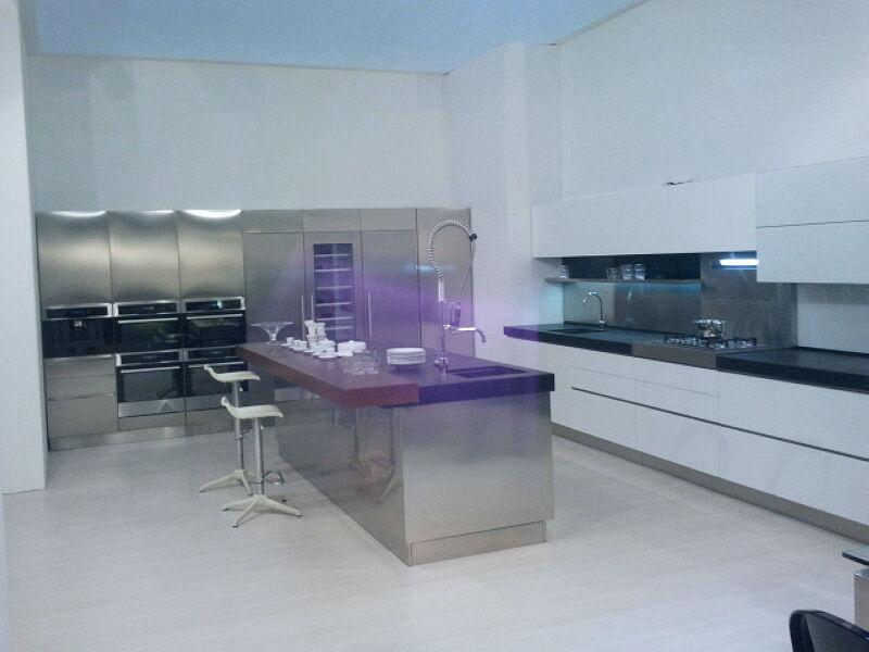 Arca Cucine Italia Cucine Domestiche Acciaio Inox Grandi Cucine 047