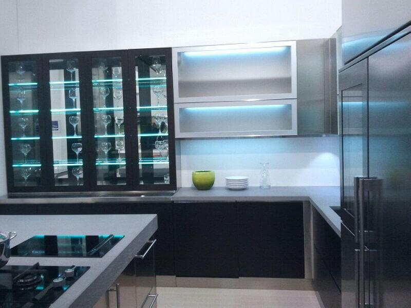 Arca Cucine Italia Cucine Domestiche Acciaio Inox Grandi Cucine 050